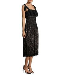 Rebecca Taylor Sleeveless Lace Tank Dress