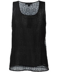 Burberry Prorsum Lace Tank Top