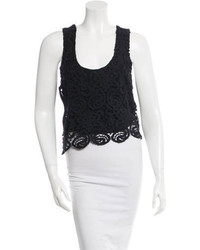 Miguelina Lace Crop Top W Tags