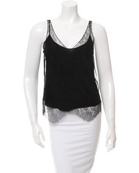 Chloé Lace Embroidered Silk Top