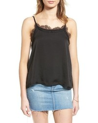 Sun & Shadow Lace Trim Camisole