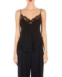 Givenchy Lace Trimmed Camisole Black