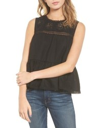 Peplum lace tank medium 4951067