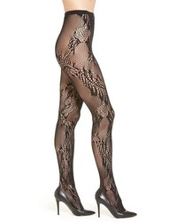Natori Feather Net Tights