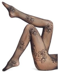 Wolford Net Lace Tights