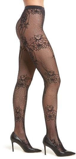 8e40bc4b4 ... Wolford Net Lace Tights ...