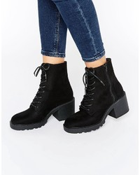 Asos Rana Lace Up Ankle Boots