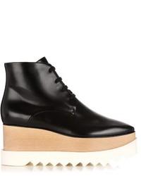 Stella McCartney Elyse Lace Up Platform Ankle Boots