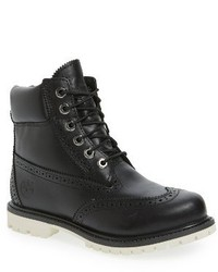 Timberland Brogue Top Shelf Collection Waterproof Boot