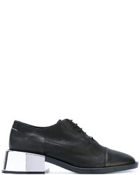 MM6 MAISON MARGIELA Metallic Heel Oxford Shoes