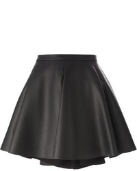Amen Faux Leather A Line Skirt