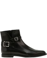 Tod's 10mm Buckled Leather Ankle Boots