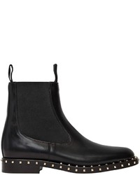 Valentino 20mm Soul Rockstud Leather Ankle Boots