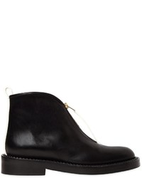 Marni 30mm Leather Ankle Boots