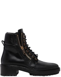 Balmain 40mm Army Leather Ankle Boots
