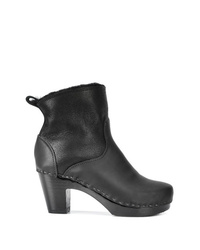 No.6 5 Pull On Shearling Clog Boot