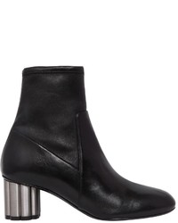 Salvatore Ferragamo 55mm Catania Stretch Leather Ankle Boots