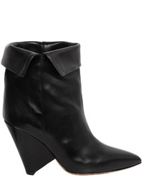 Isabel Marant 90mm Luliana Leather Ankle Boots