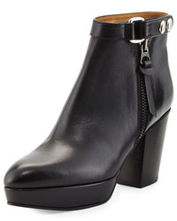 Acne Studios Acne Orbit Tabbed Leather Ankle Boot