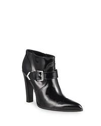 Altuzarra Patent Leather Ankle Boots Black