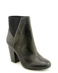 BCBGeneration Lillyan Black Leather Fashion Ankle Boots Uk 5