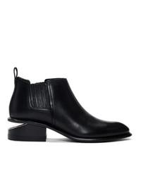 Alexander Wang Black And Gold Kori Boots