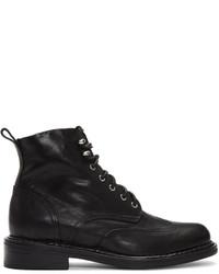 Rag & Bone Black Cozen Boots