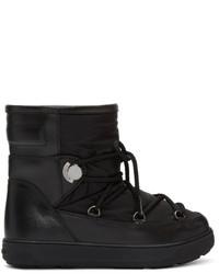 Moncler Black Fanny Boots