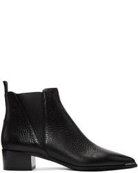Acne Studios Black Jensen Grain Boots