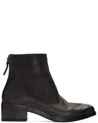 Marsèll Black Leather Listo Boots
