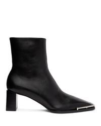 Alexander Wang Black Mascha Low Boots