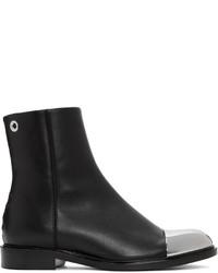 Proenza Schouler Black Metal Cap Xx Camp Boots