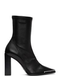Alexander Wang Black Nappa Mascha Boots