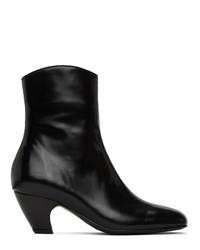 Dorateymur Black Polido Boots