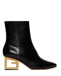 Givenchy Black Triangle G Boot