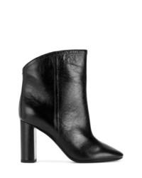 Saint Laurent Block Heel Ankle Boots
