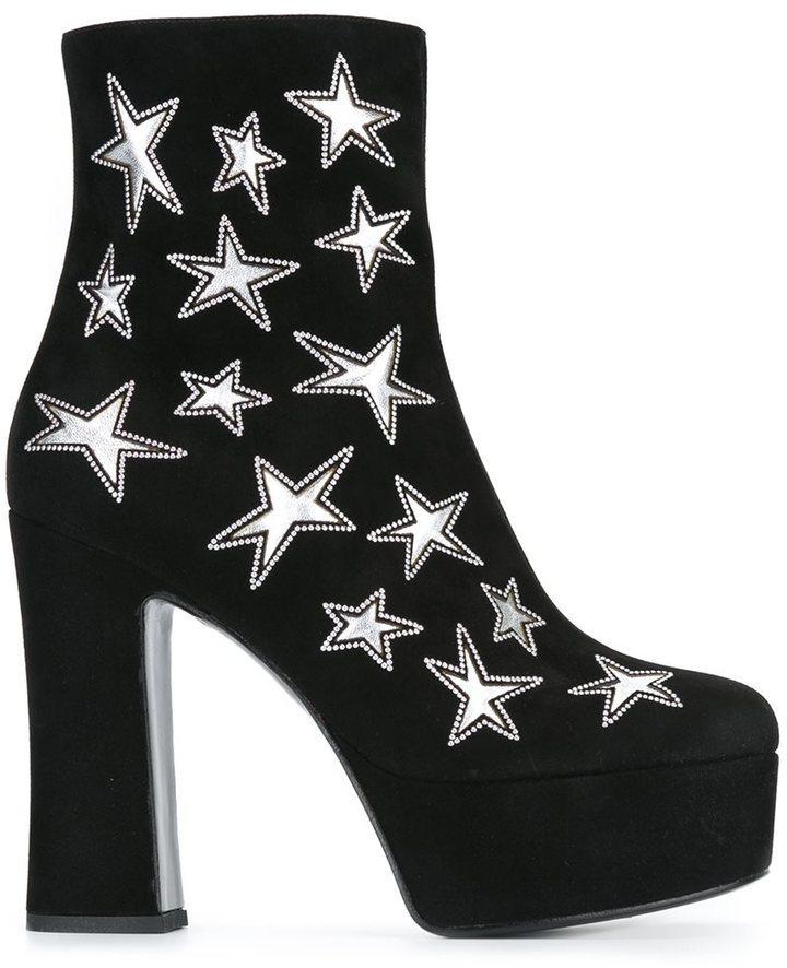 Saint Laurent Candy 80 Ankle Boots