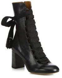 Chloé Chloe Harper Leather Ankle Boots