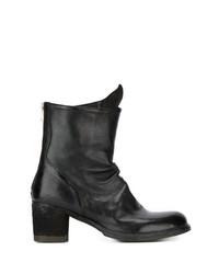 Officine Creative Chunky Heel Boots