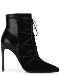 Saint Laurent Classic Paris Ankle Boots