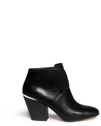 Cole Haan Hayden Vachetta Leather Ankle Boots