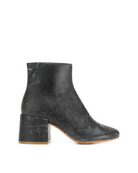 MM6 MAISON MARGIELA Cracked Detail Boots