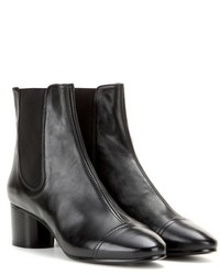Isabel Marant Dan Leather Ankle Boots