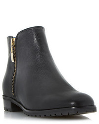 Dune London Porta Leather Ankle Boots