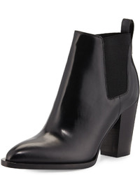 Vince Edith Leather Bootie Black