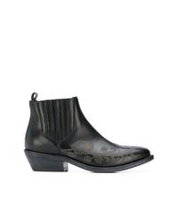 Etro Embellished Leather Boots