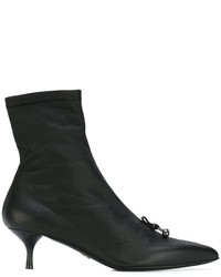 Ermanno Scervino Pointed Toe Ankle Boots