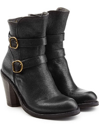 Fiorentini+Baker Fiorentini Baker Leather Double Strap Ankle Boots