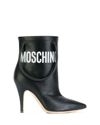 Moschino Handbag Strap Ankle Boots