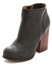 Hanger leather booties medium 37747
